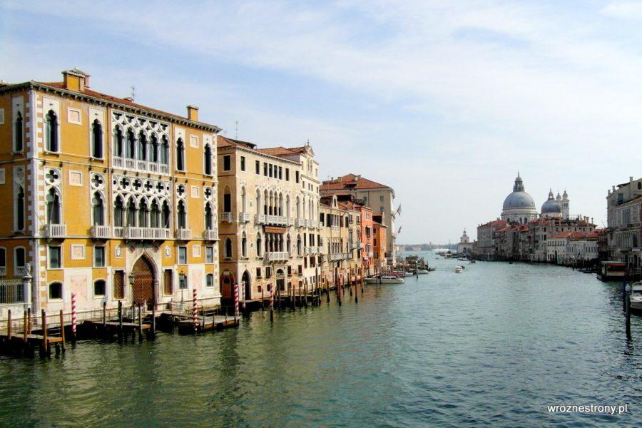 Canal Grande z Ponte dell'Accademia