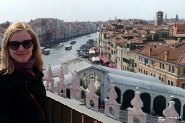 Z widokiem na Most Rialto i Canal Grande