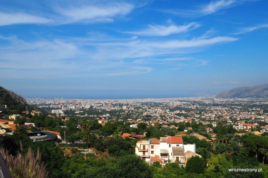 Widok na Palermo z Monreale