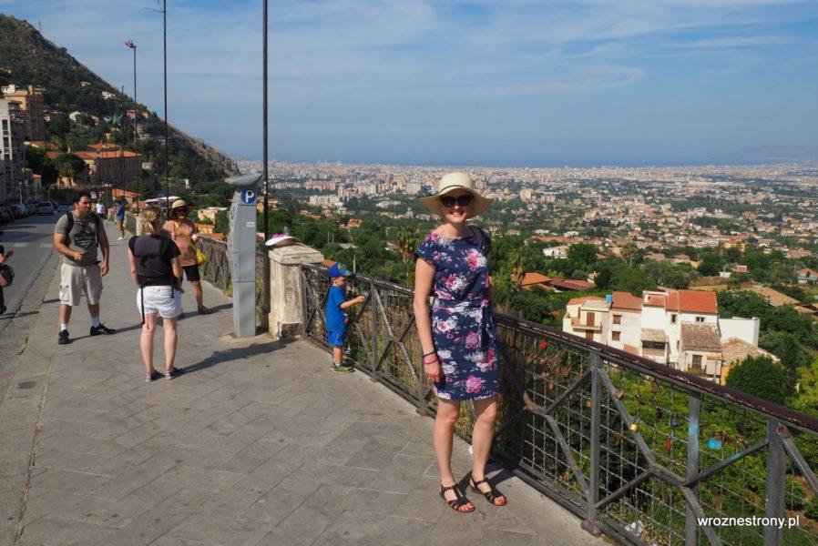 Popularne miejsce do robienia zdjęć z Palermo w tle