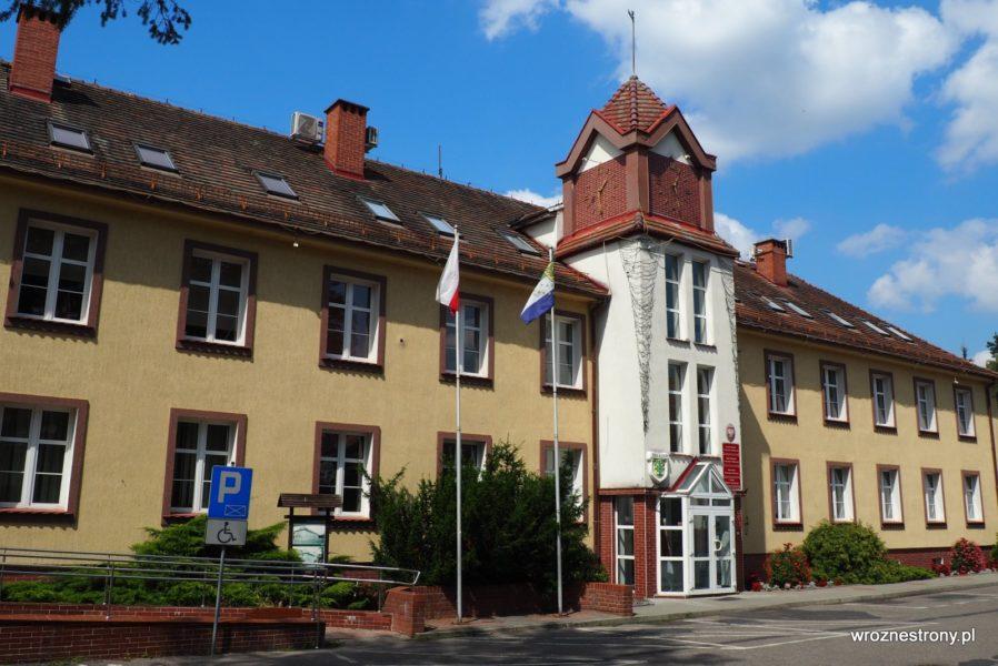 Ratusz (dawniej siedziba dowództwa garnizonu), Borne Sulinowo