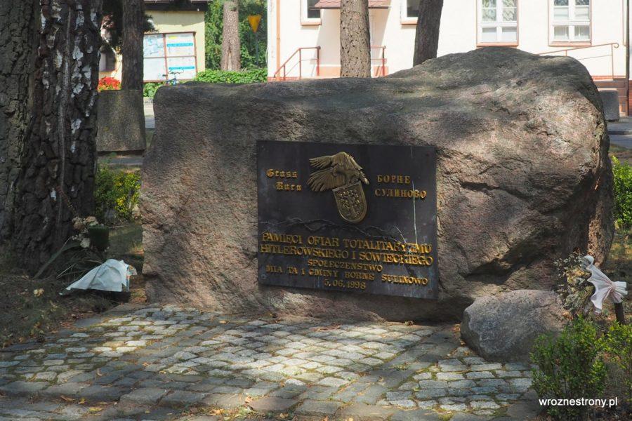 Pomnik Pamięci Ofiar Totalitaryzmu, Borne Sulinowo