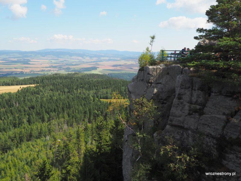 Szczeliniec, Góry Stołowe