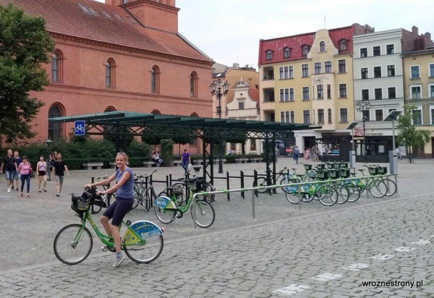 Tak zwiedzałam Toruń na rowerze