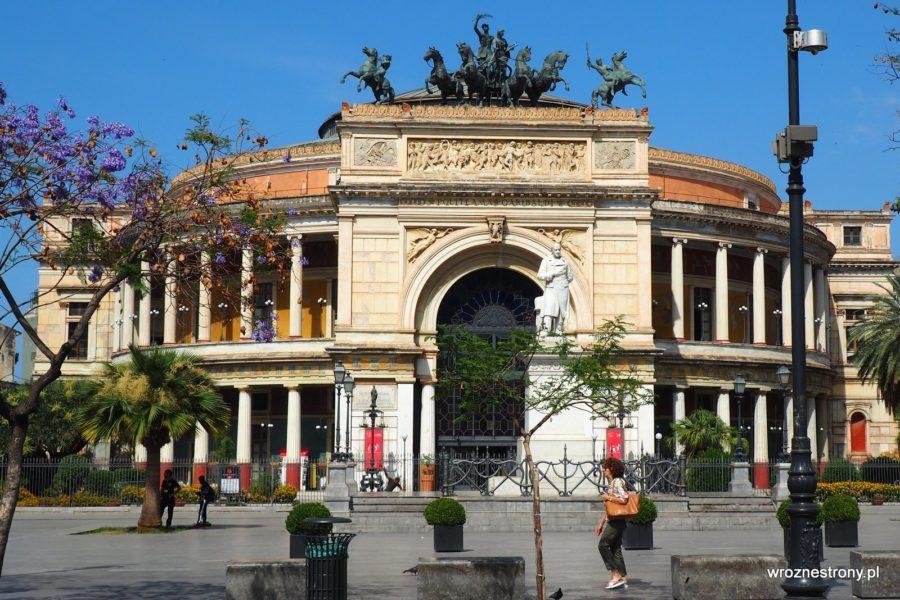 Teatr Politeama Garibaldi w Palermo