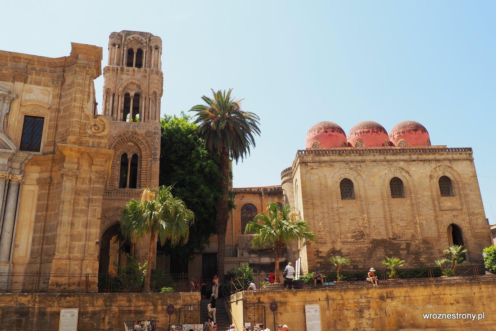 Kościół Santa Maria dell'Ammiraglio i kościół San Cataldo