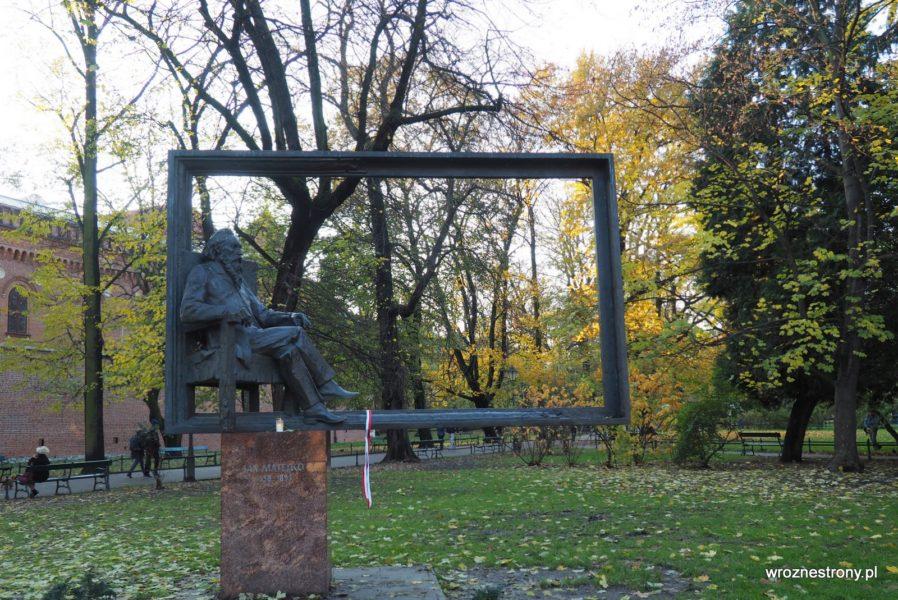 Pomnik Jana Matejki w Krakowie