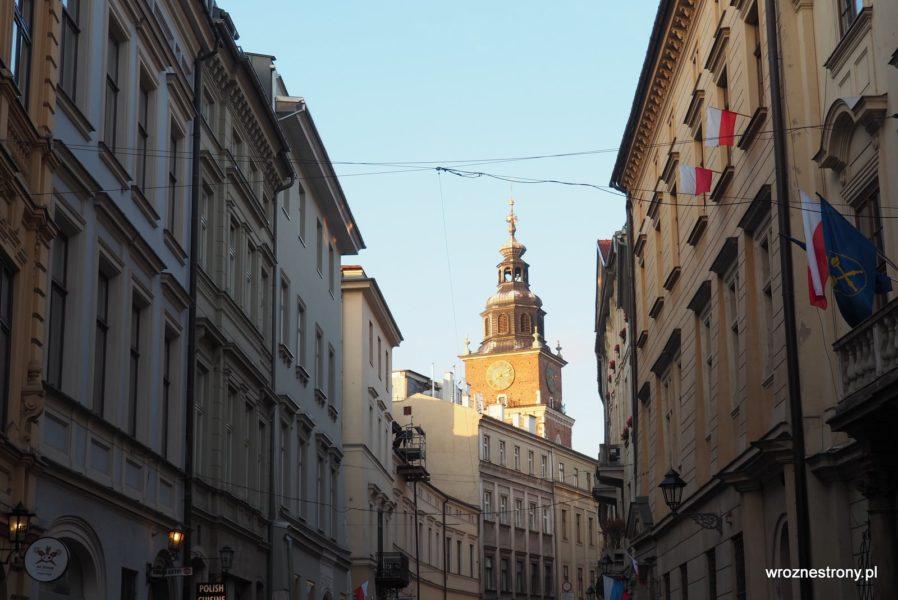 ulica Bracka w Krakowie