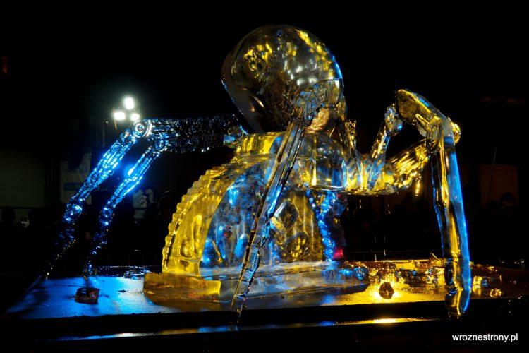 1. miejsce Festiwalu Rzeźby Lodowej w Poznaniu 2019