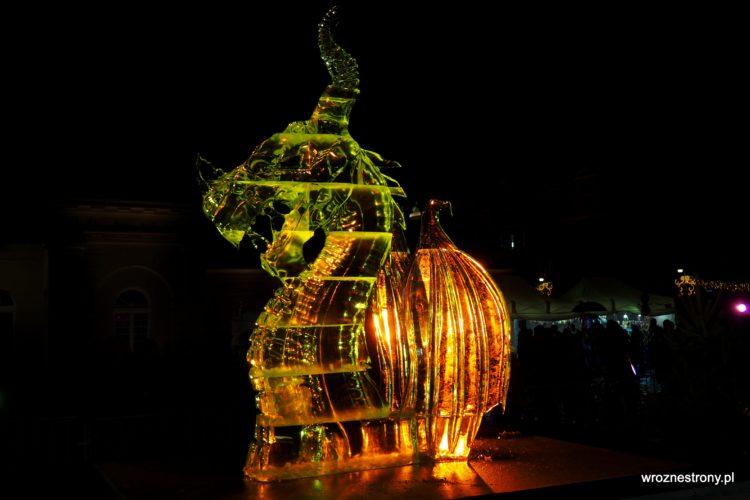 2. miejsce Festiwalu Rzeźby Lodowej w Poznaniu 2019