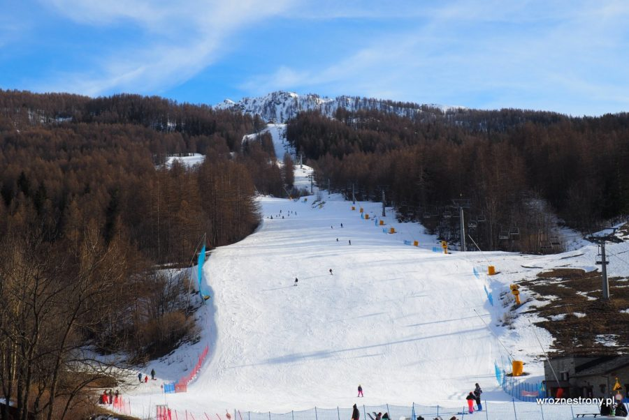 Stok narciarski w Melezet, luty 2020