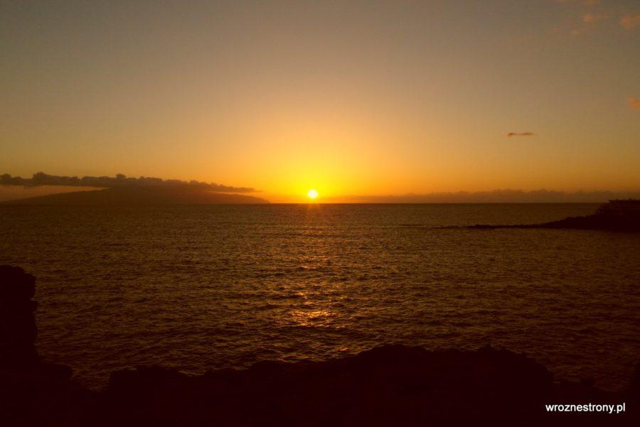 Wiele pięknych zachodów słońca można zobaczyć na Teneryfie