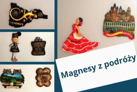 magnesy z podróży