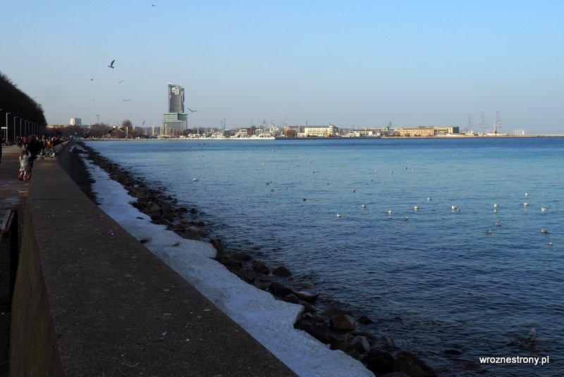 Bulwar w Gdyni