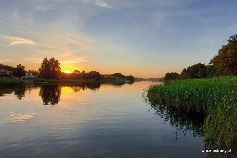 Jezioro Niskie Brodno w Brodnicy
