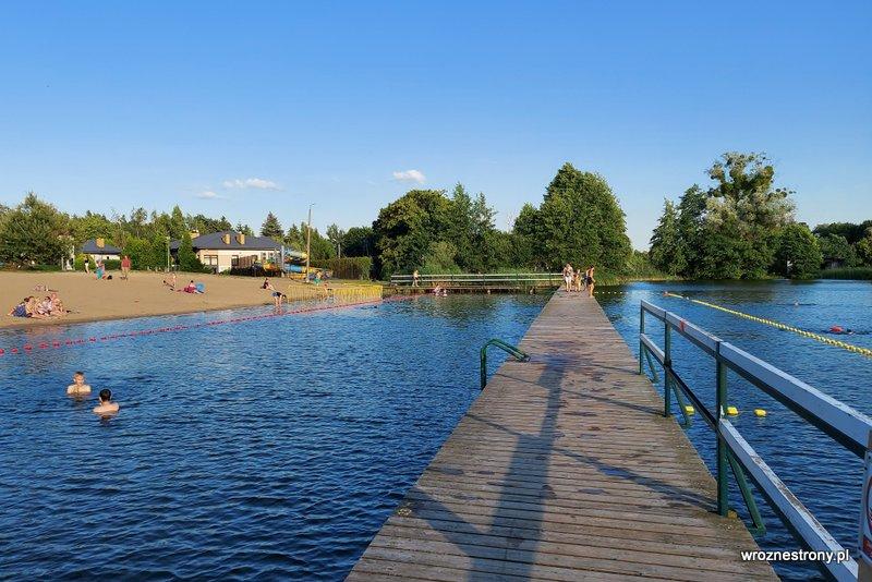 Kąpielisko w Brodnicy nad Jeziorem Nowe Brodno