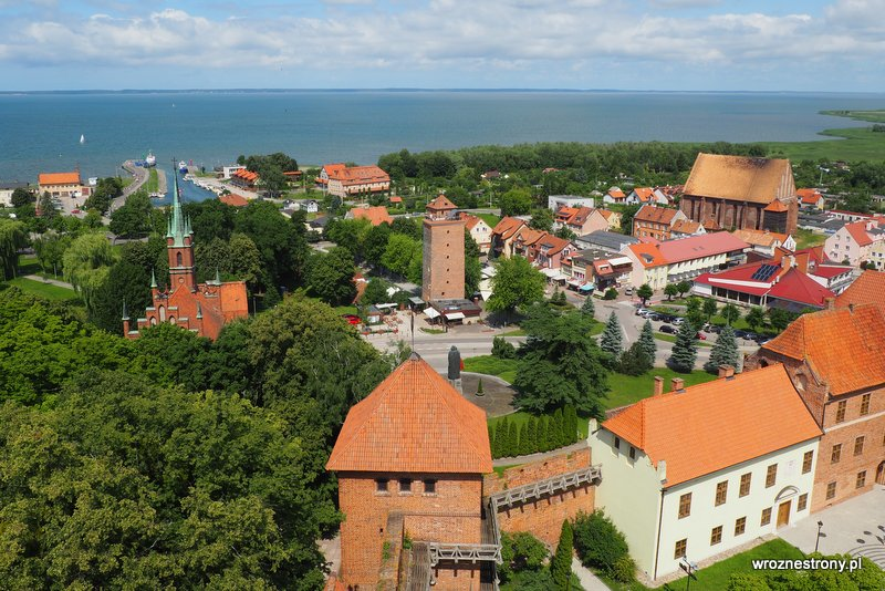 Widok z wieży we Fromborku